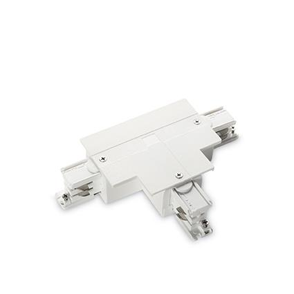Разъем Ideal Lux LINK TRIM T-CONNECTOR LEFT WHITE (188157)