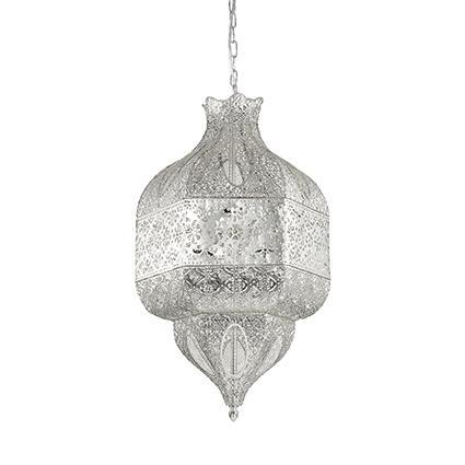 Подвесной светильник Ideal Lux NAWA-1 SP8 ARGENTO (141954)