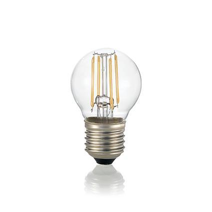 Светодиодная лампа Ideal Lux LED CLASSIC E27 4W SFERA TRASPARENTE 4000K (153957)