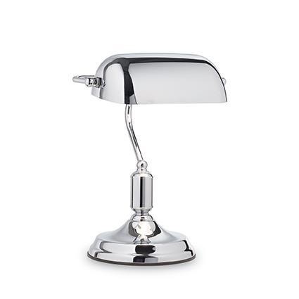Настольная лампа Ideal Lux LAWYER TL1 ALL CHROME (152684)