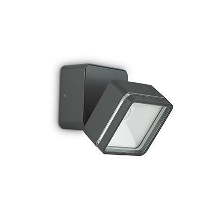 Настенный светильник Ideal Lux OMEGA SQUARE AP1 ANTRACITE (172514)