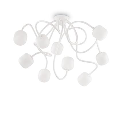 Люстра Ideal Lux OCTOPUS PL9 BIANCO (174990)