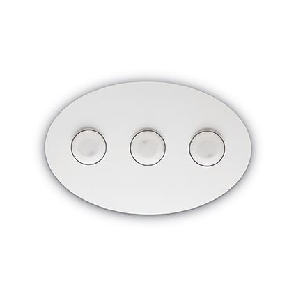 Потолочный светильник Ideal Lux LOGOS PL3 BIANCO (175768)