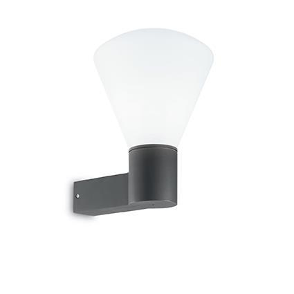 Настенный светильник Ideal Lux OUVERTURE AP1 ANTRACITE (187075)