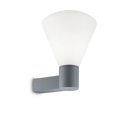 Настенный светильник Ideal Lux OUVERTURE AP1 GRIGIO (187099)