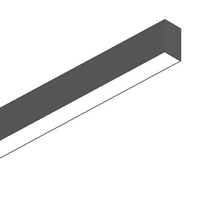 Потолочный светильник Ideal Lux FLUO WIDE 1800 3000K BLACK (192567)