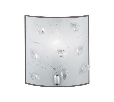 Настенный светильник Trio 202400106 Carbonado
