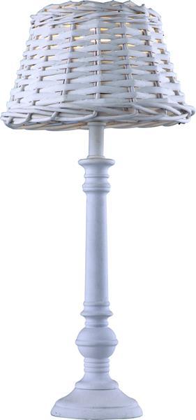 Настольная лампа Arte Lamp A3400LT-1WH Villaggio