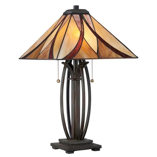Настольная лампа Quoizel QZ/ASHEVILLE/TL