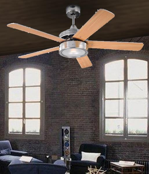 Современная люстра-вентилятор