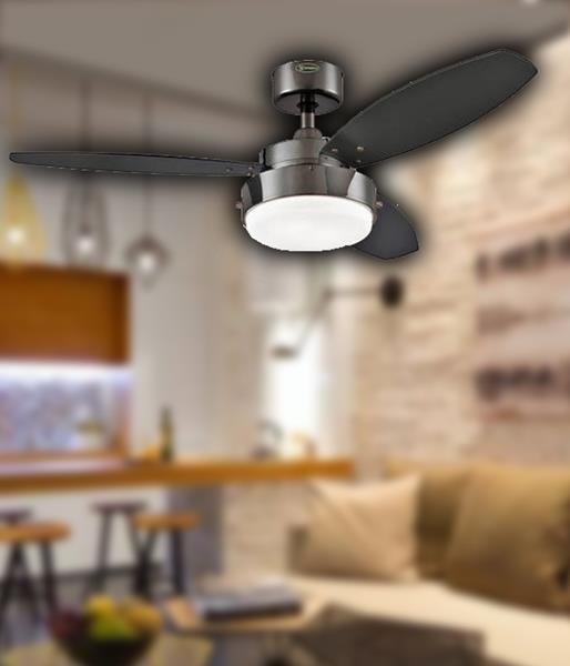 Припотолочная люстра вентилятор