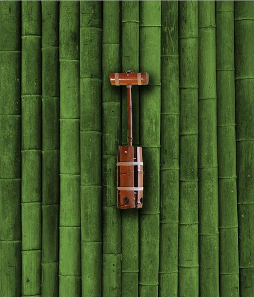 Люстра бамбук Рефлектор большой 1