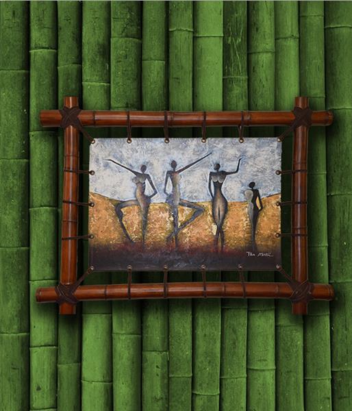 Картина Bamboo Танцовщицы