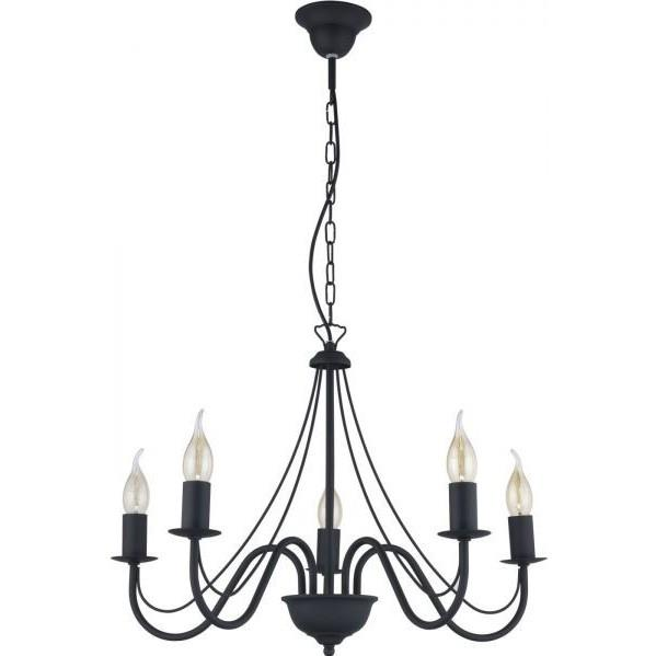 Люстра TK Lighting 1757 Diana Black