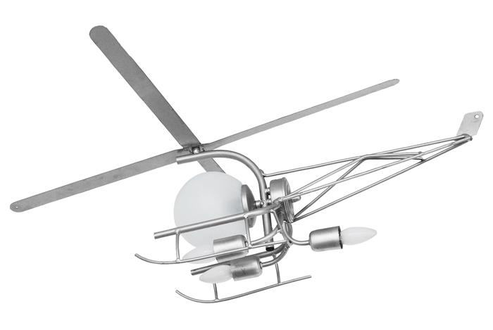 Детская люстра кованая Вертолет