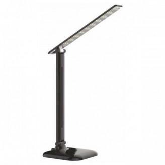 Светодиодный настольный светильник DE1725 9W 6400K черный IP20 5488