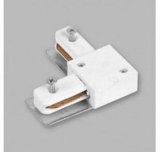 Коннектор угловой LD1001 белый 5826