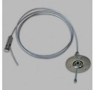 Троссовый подвес LD1002 1,5м серый 5872