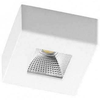 Светодиодный врезной светильник 6065 AL521 5W 4000К квадрантный белый IP20