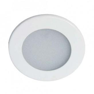 Светодиодный врезной светильник AL510 9W 4000K круглый белый 6089