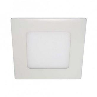 Светодиодный врезной светильник 6112 AL511 12W 4000К квадрантный белый IP20
