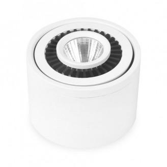 Светодиодный накладной светильник 6201 AL523 10W 4000К белый IP20