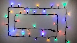 LED гирлянда для улицы DELUX  10м МУЛЬТИЦВЕТ
