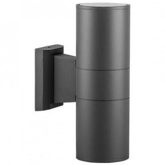 Архитектурный настенный светильник DH0702 E27 2x60W серый IP54