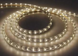 Светодиодная лента LS704 60SMD(2835)/м 4,4W/m 220V теплый белый 100м IP68 5922