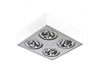 Потолочный светильник Azzardo Paulo 4 230V LED 16W (GM4400 WH/ALU 230V LED 16W)