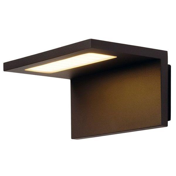Уличный настенный светодиодный светильник SLV 231355 Angolux Wall, антрацит