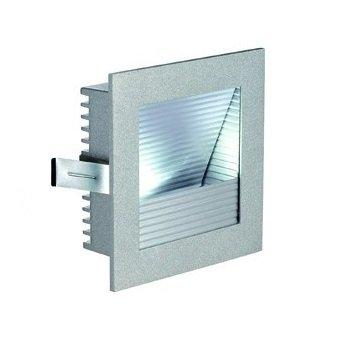 Светильник встраиваемый SLV 111290 FRAME CURVE 1Вт, 4000K, 350mA, 110lm, серебристый/алюминий