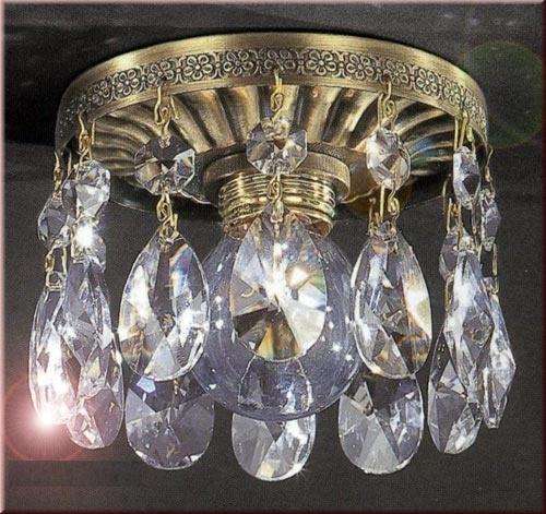 Точечный светильник RECCAGNI ANGELO SPOT. 6000 bronzo