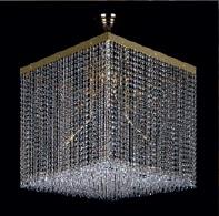 Люстра Artglass LEANDRA 500x500 CE