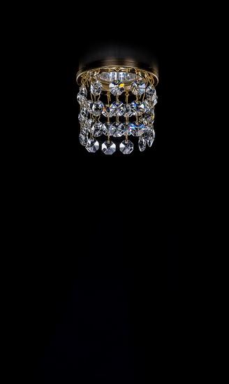 Хрустальный точечный светильник Artglass SPOT 82 CE