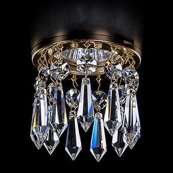 Хрустальный точечный светильник Artglass SPOT 83 CE