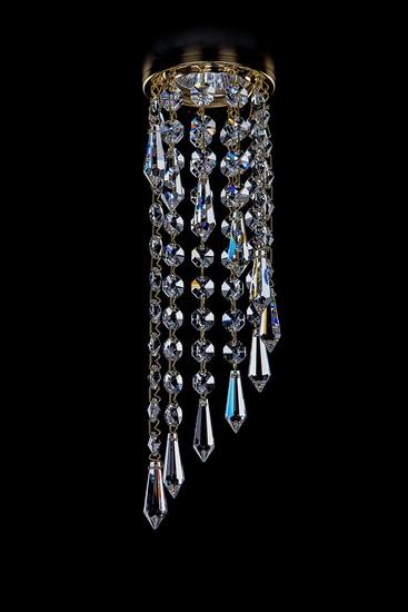 Хрустальный точечный светильник Artglass SPOT 84 CE