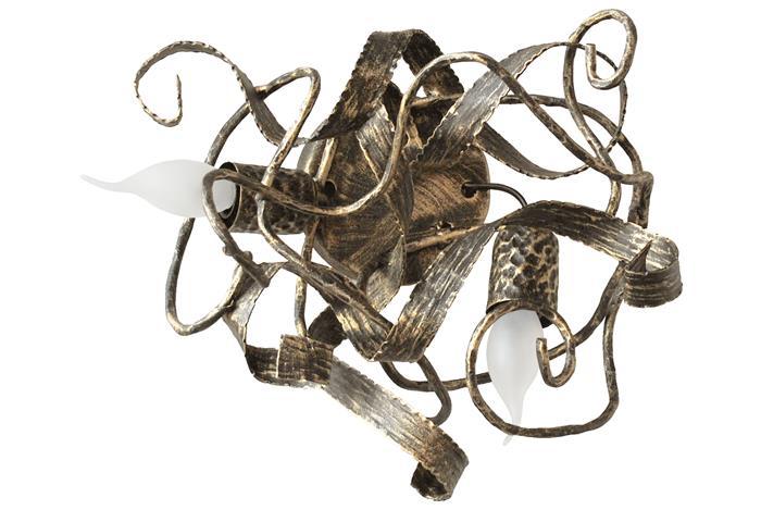 Бра ковка Хаос бра 2 античный, бронза