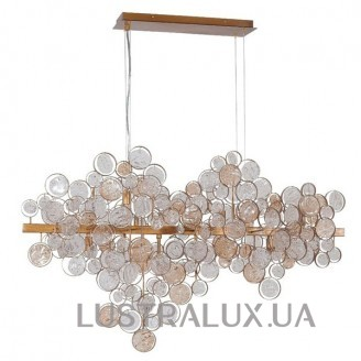 Подвес Crystal Lux DESEO DESEO SP12 L1000 GOLD